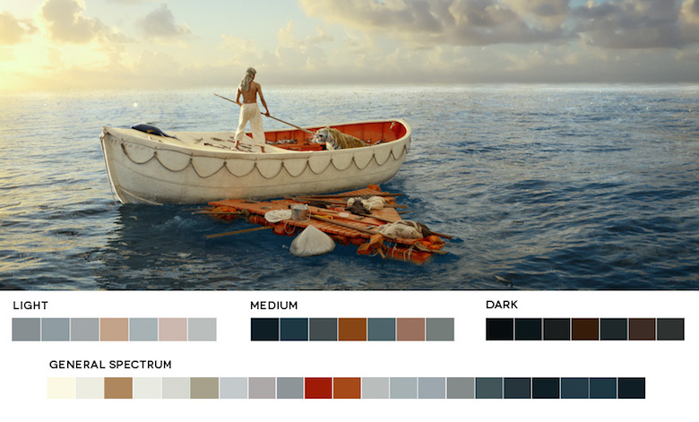 Life of Pi - Color Palette