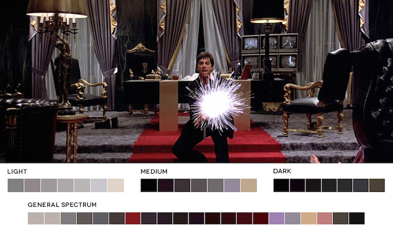 Scarface – Color Palette