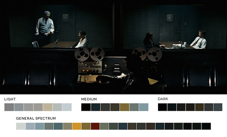 Se7en – Color Palette