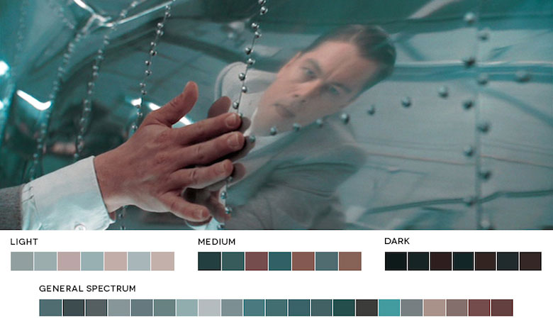 The Aviator – Color Palette