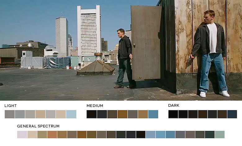 The Departed – Color Palette