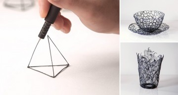 Draw Solid Objects In Thin Air With The World's Smallest 3D Printing Pen