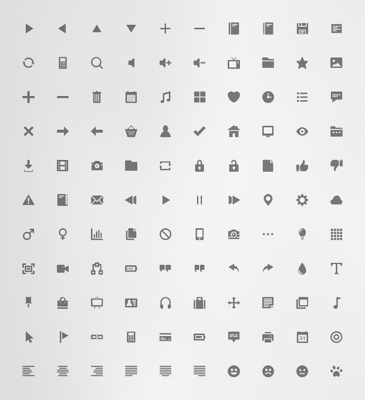 110 Free Flat Icons For Commercial Use