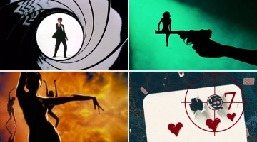 50 Years Of James Bond Title Sequences Merged Into One Awesome Video Montage