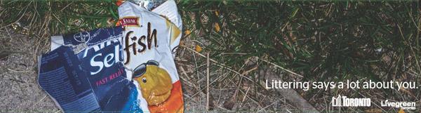 Anti-littering - Live Green Toronto (2)