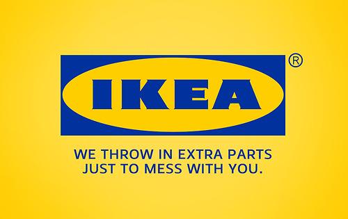 Honest Advertising Slogans - IKEA