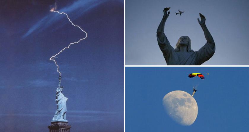 Hilarious Photos Taken at the Perfect Time (67 pics