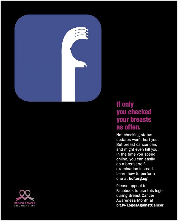 Breast Cancer Foundation - If Only You Checked Your Breasts As Often - Facebook Logo