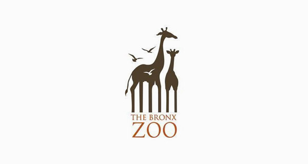 Creative Logo Design Inspiration With Hidden Meanings - The Bronx Zoo