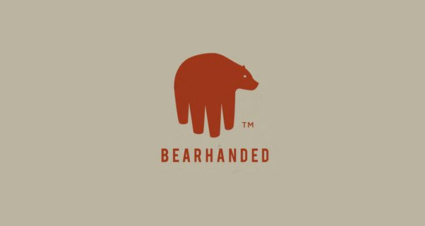 Creative Logo Design Inspiration With Hidden Meanings - Bearhanded
