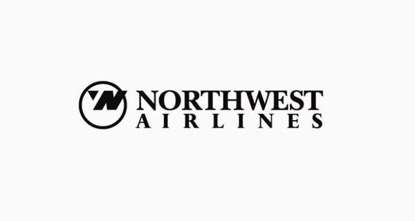 Creative Logo Design Inspiration With Hidden Meanings - Northwest Airlines