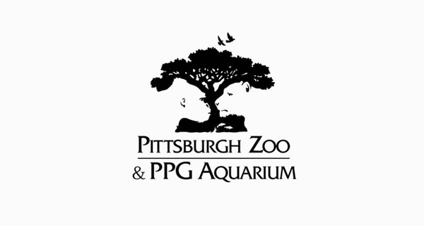 Creative Logo Design Inspiration With Hidden Meanings - Pittsburgh Zoo