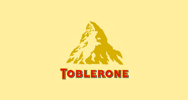 Creative Logo Design Inspiration With Hidden Meanings - Toblerone