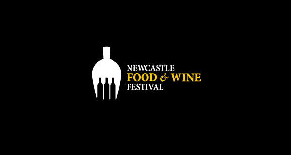 Creative Logo Design Inspiration With Hidden Meanings - Newcastle Food & Wine Festival