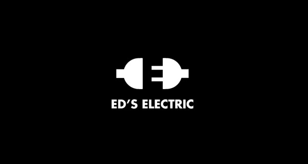 Creative Logo Design Inspiration With Hidden Meanings - Ed's Electric