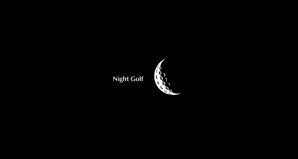 Creative Logo Design Inspiration With Hidden Meanings - Night Golf