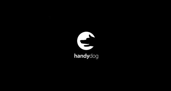 Creative Logo Design Inspiration With Hidden Meanings - Handy Dog