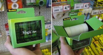 How Clever Is This 'Invisible' Packaging From Scotch Magic Tape?