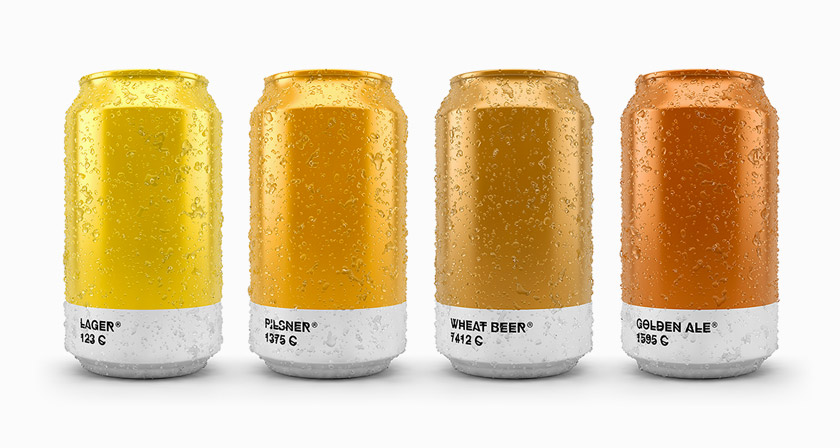 pantone-color-beer-can-bottle-packaging