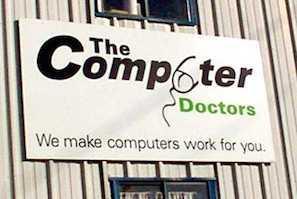 Worst Logo Design Fails - Computer Doctor