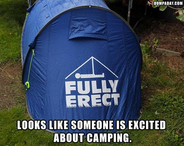 Worst Logo Design Fails - Fully Erect Tent