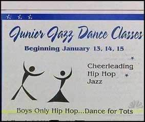 Worst Logo Design Fails - Junior Jazz Dance Classes