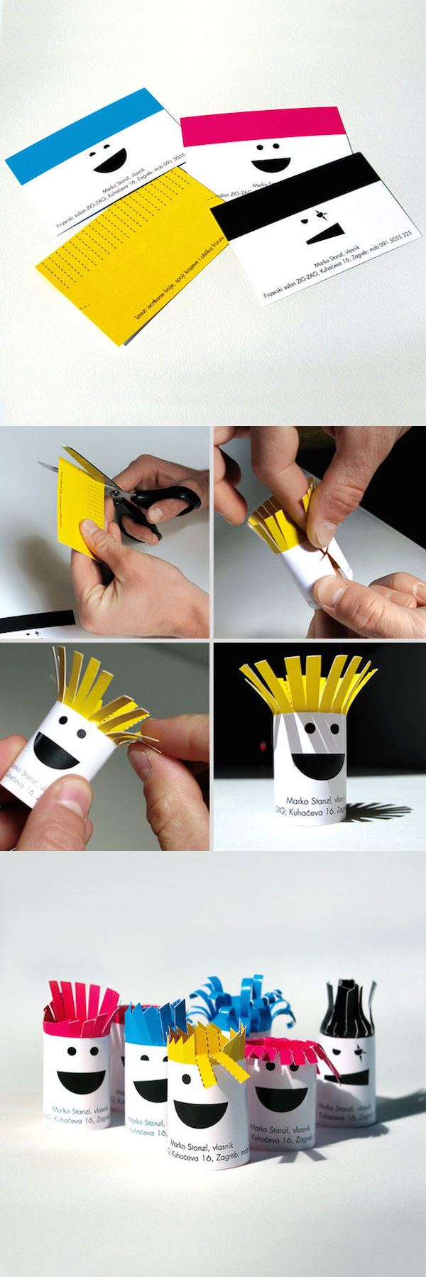 Creative Unique Business Card Design Inspiration - 19