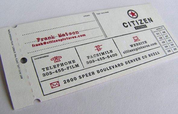 Creative Unique Business Card Design Inspiration - 28