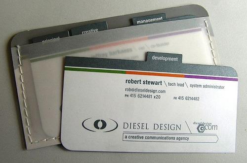 Creative Unique Business Card Design Inspiration - 31