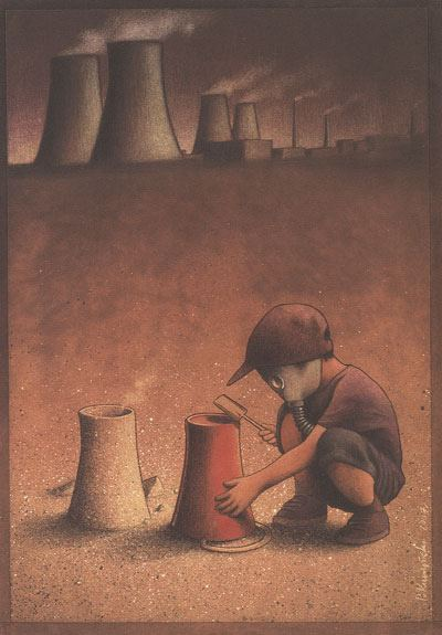 Thought Provoking Paintings By Pawel Kuczynski - 22