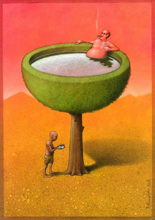Thought Provoking Paintings By Pawel Kuczynski - 21