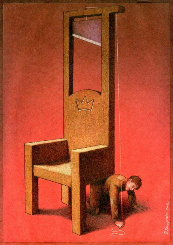 Thought Provoking Paintings By Pawel Kuczynski - 20