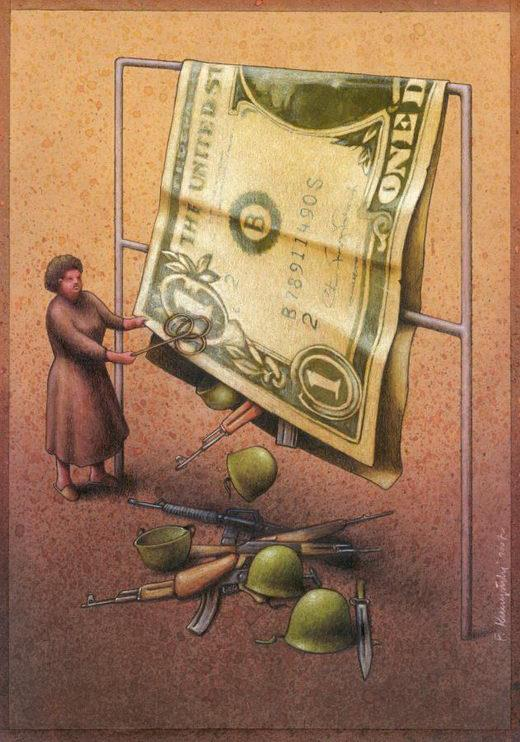 Thought Provoking Paintings By Pawel Kuczynski - 17