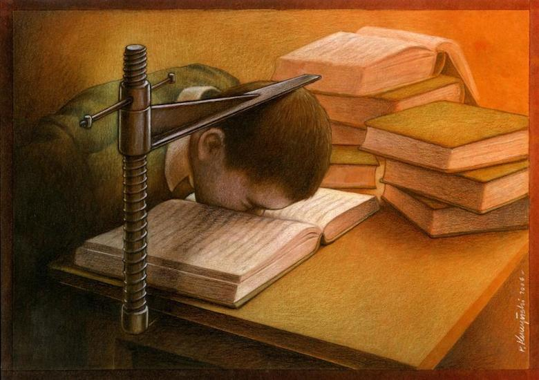 Thought Provoking Paintings By Pawel Kuczynski 2