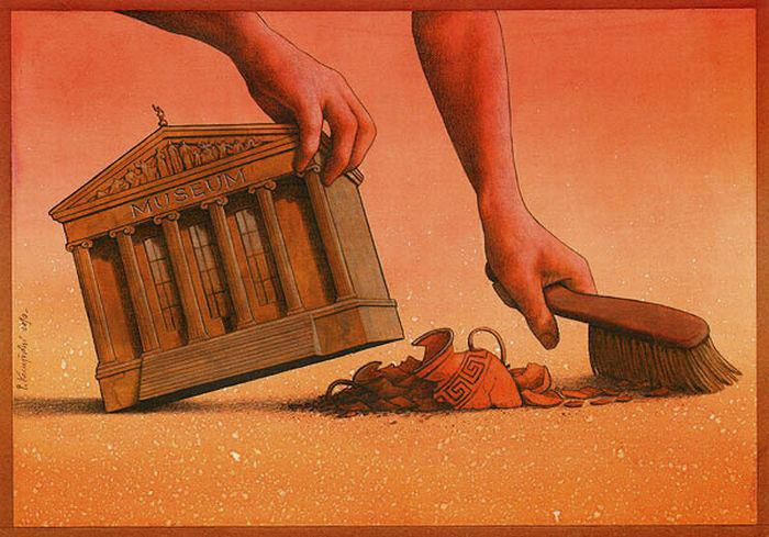 Thought Provoking Paintings By Pawel Kuczynski - 36