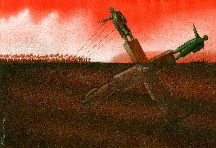 Thought Provoking Paintings By Pawel Kuczynski 5