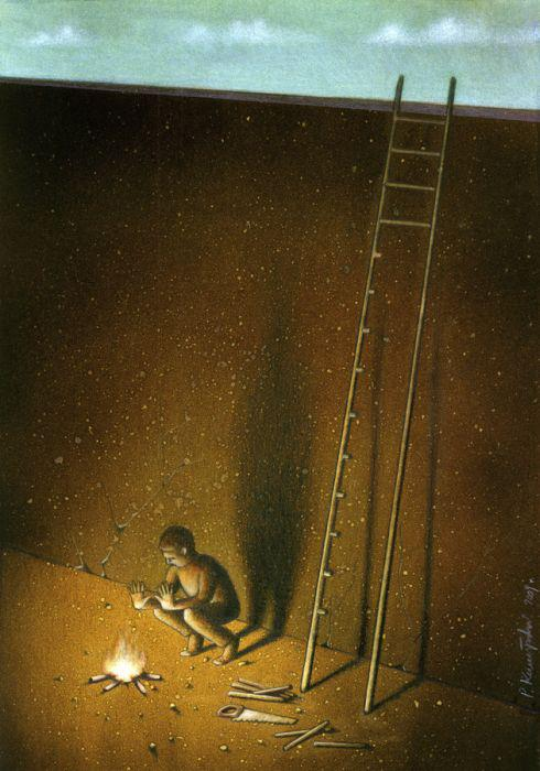 Thought Provoking Paintings By Pawel Kuczynski 6