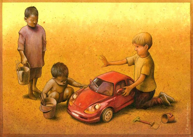 Thought Provoking Paintings By Pawel Kuczynski -27