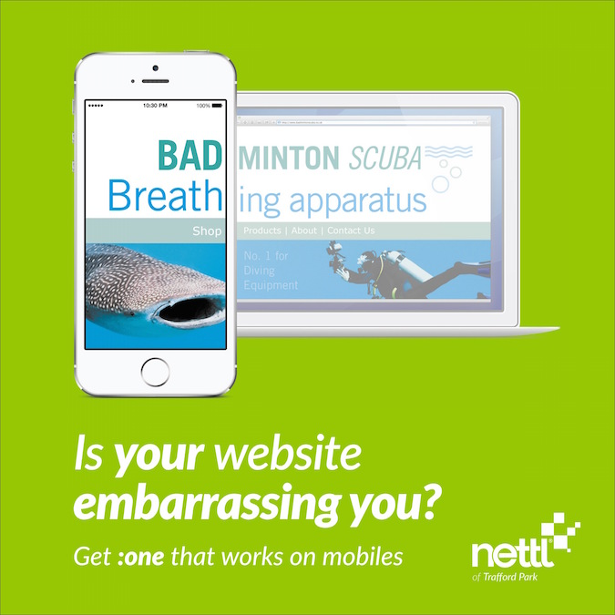 Mobile friendly web design by Nettl - 2