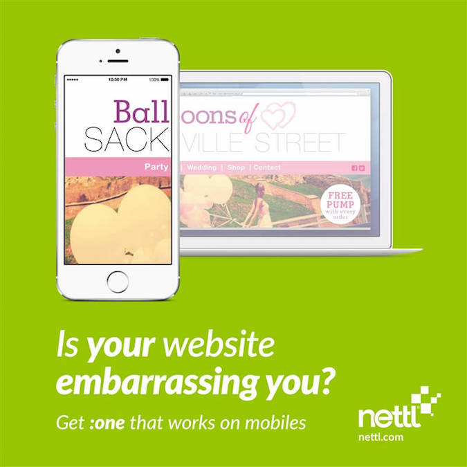 Mobile friendly web design by Nettl - 3