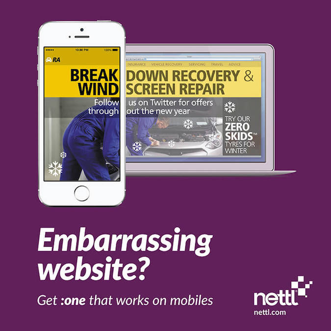 Mobile friendly web design by Nettl - 4