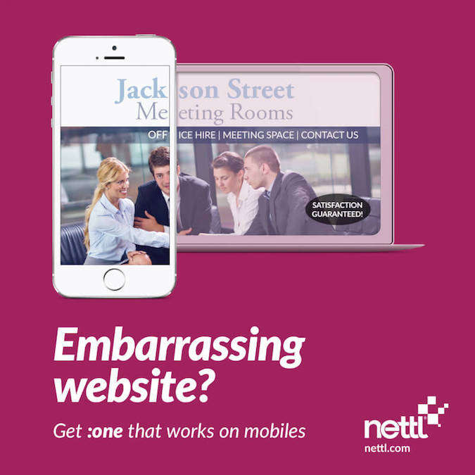 Mobile friendly web design by Nettl - 5