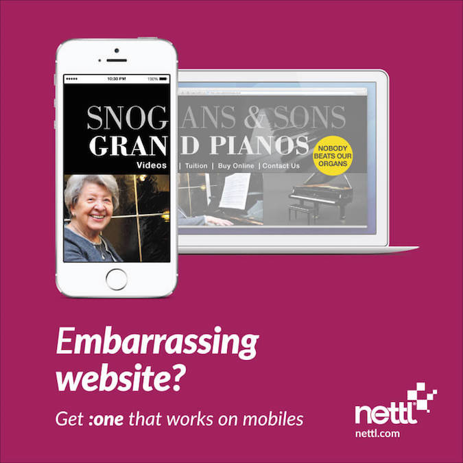 Mobile friendly web design by Nettl - 6