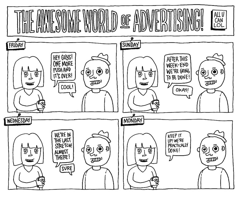 Life In An Advertising Agency - 14