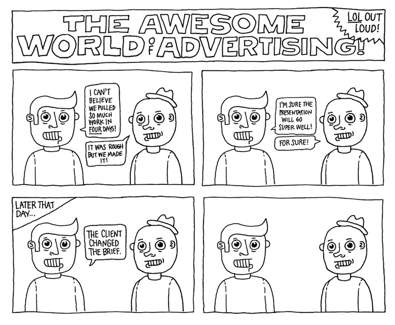 Life In An Advertising Agency - 17