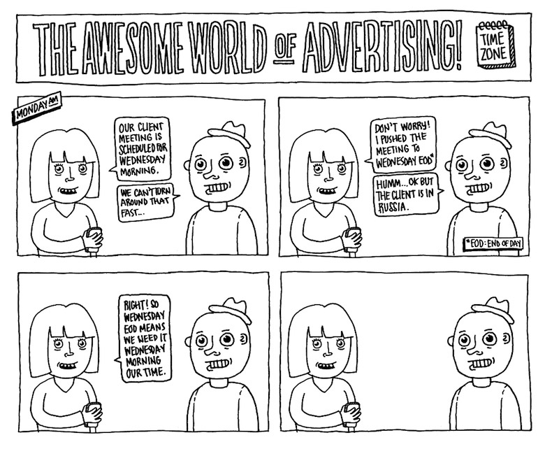 Life In An Advertising Agency - 7