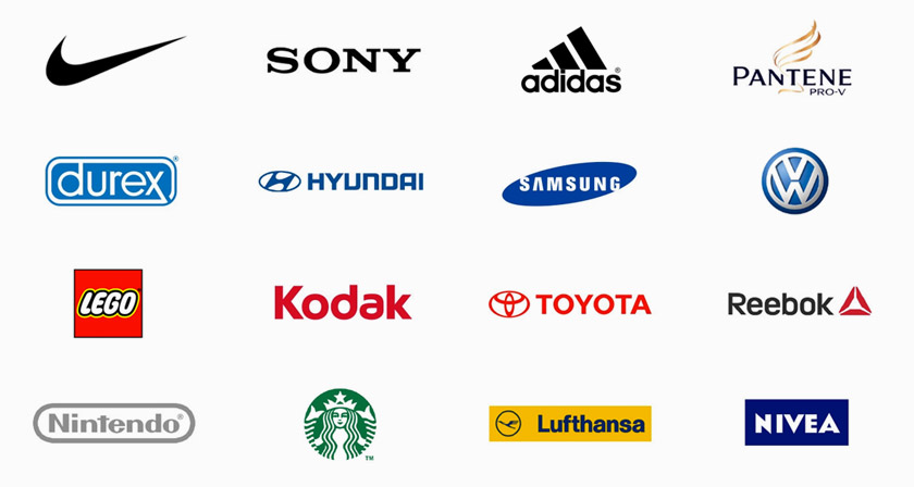 Famous Brand Logos With Names
