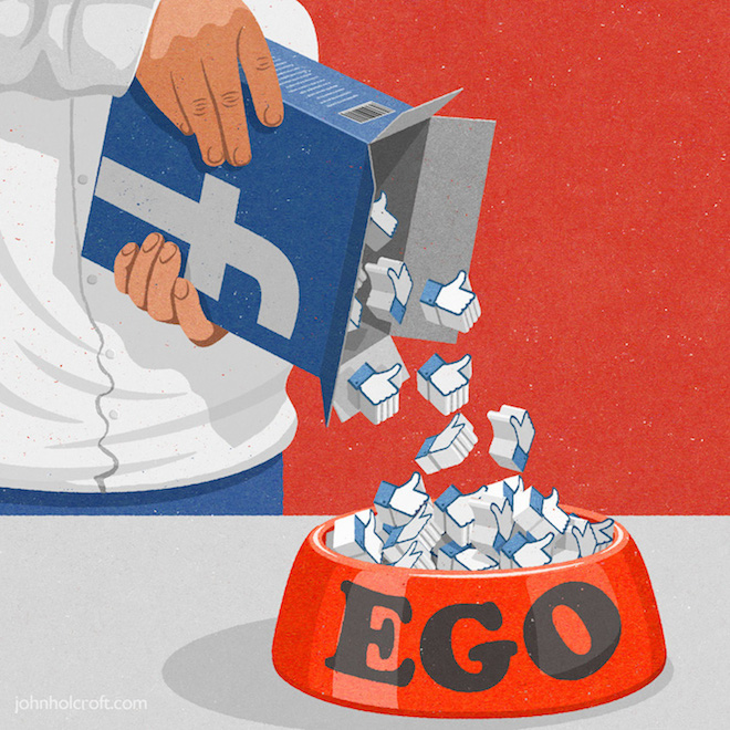 Retro Style Thought Provoking Illustrations by John Holcroft - 1
