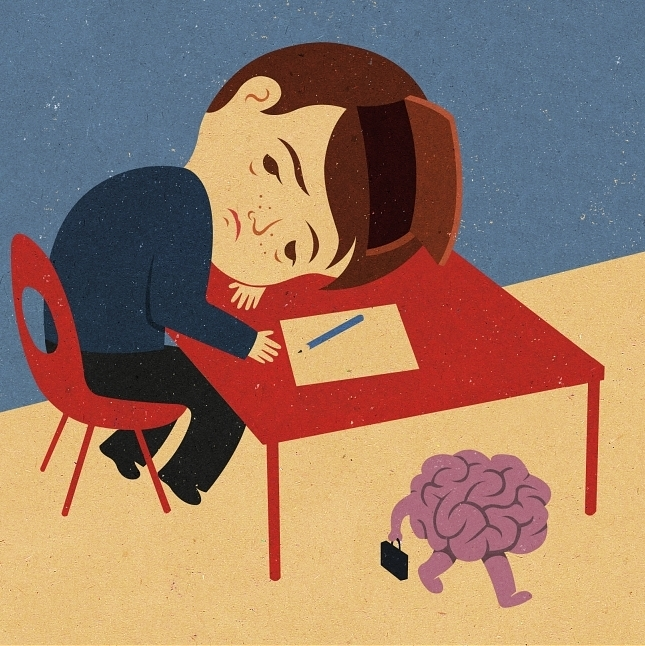 Retro Style Thought Provoking Illustrations by John Holcroft - 17