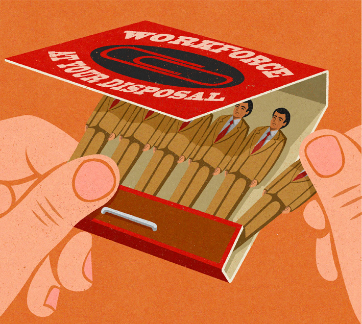 Retro Style Thought Provoking Illustrations by John Holcroft - 18